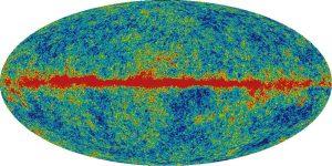Карта излучения Вселенной